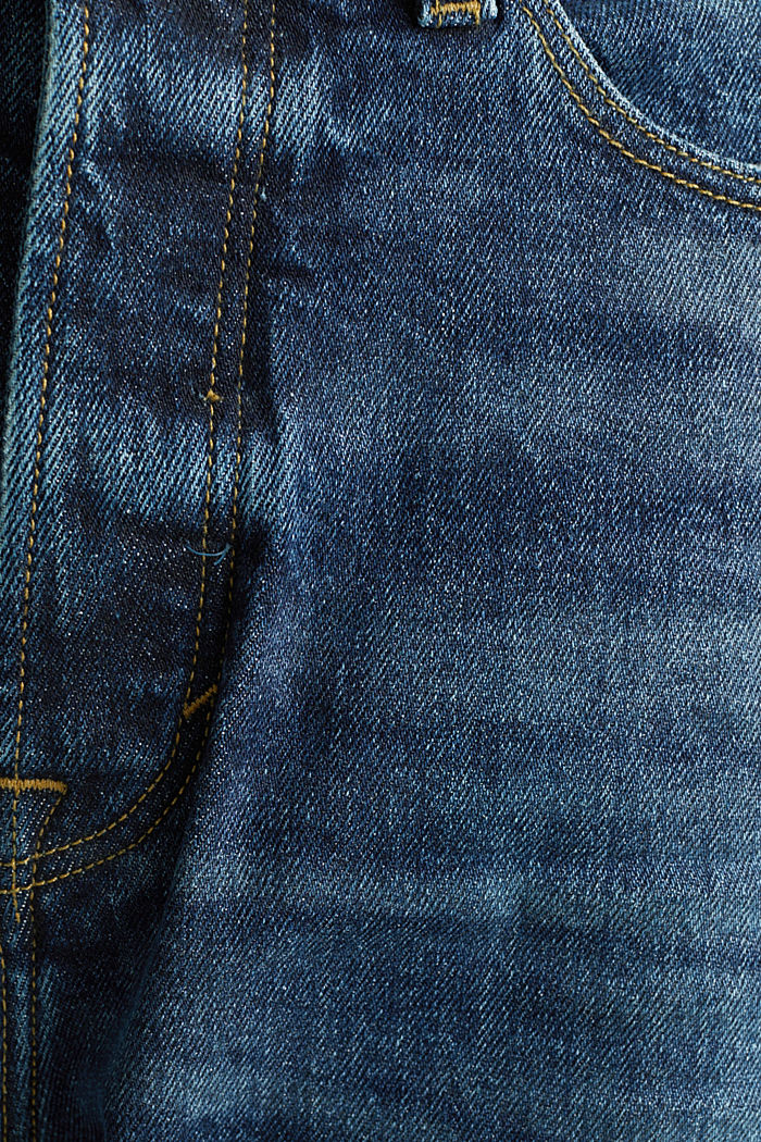 Button-fly jeans, BLUE DARK WASHED, detail image number 4