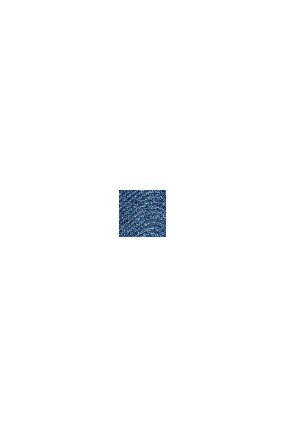 Vaqueros tobilleros con pernera ancha, BLUE MEDIUM WASHED, swatch