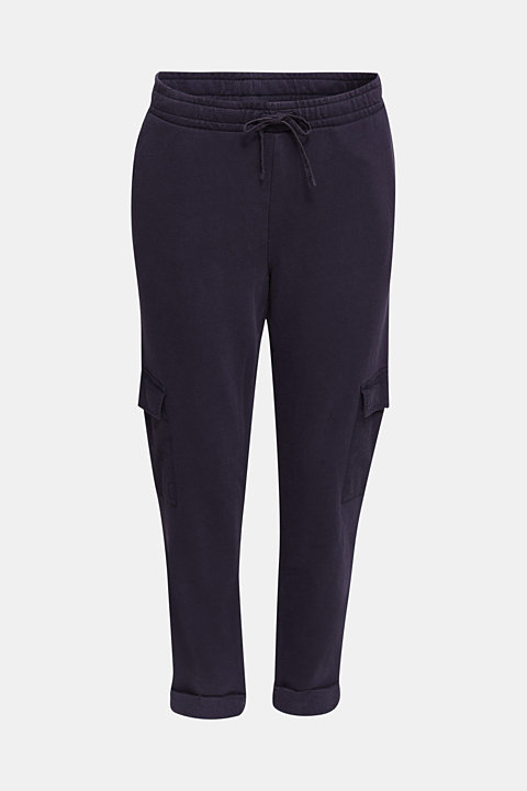 Utility-style tracksuit bottoms