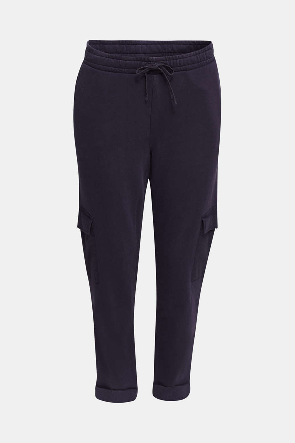 Utility-style tracksuit bottoms, NAVY, detail image number 6