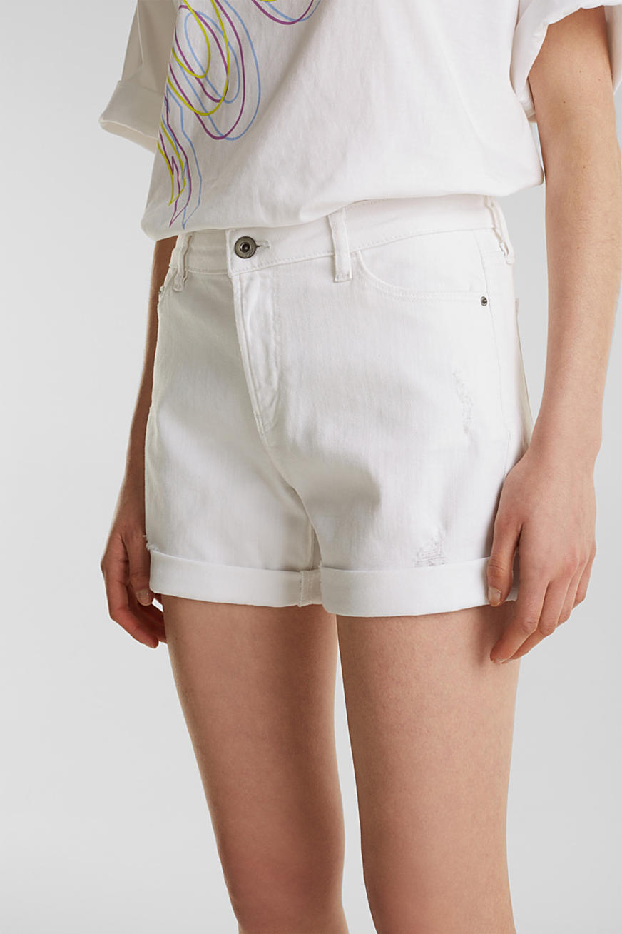 Shorts i stretchdenim