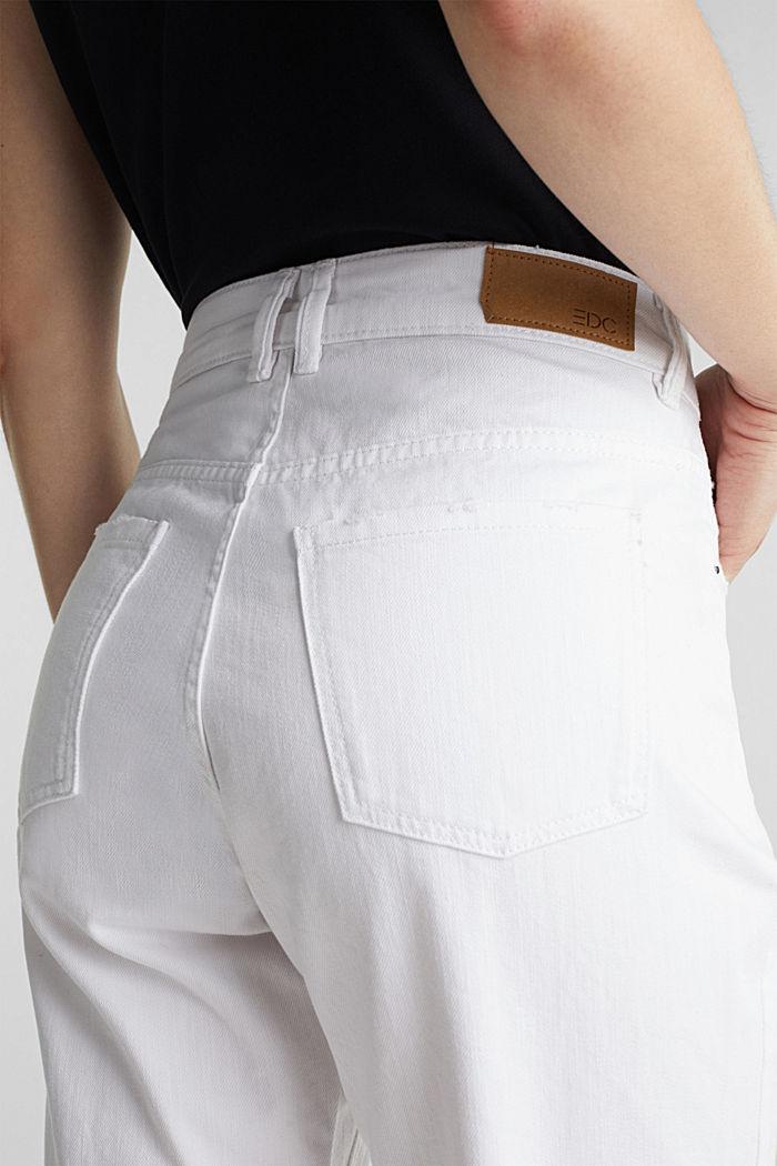 Shorts vaqueros de algodón, WHITE, detail image number 2