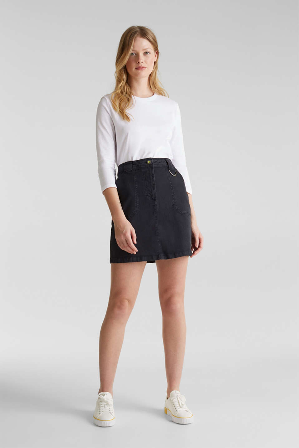 edc - Denim skirt with pockets