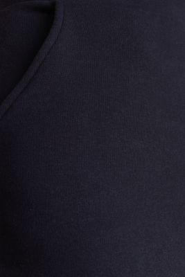 Pencil skirt made of sweatshirt fabric, NAVY, detail