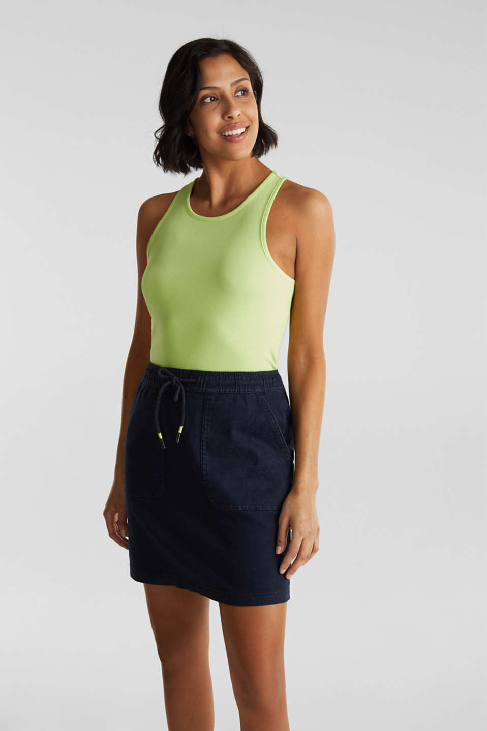 edc - NEON skirt with sporty details