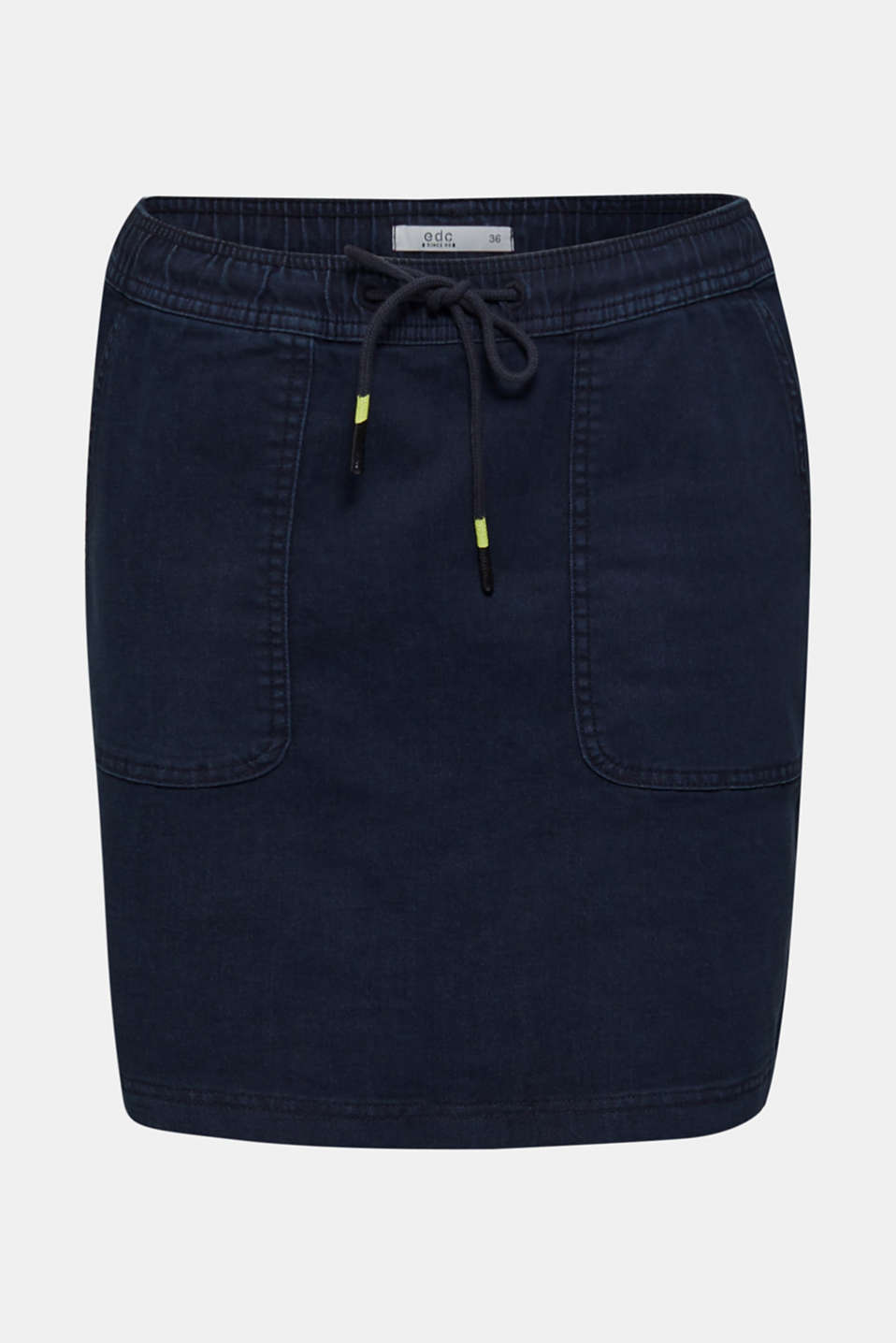 NEON skirt with sporty details, NAVY, detail image number 7