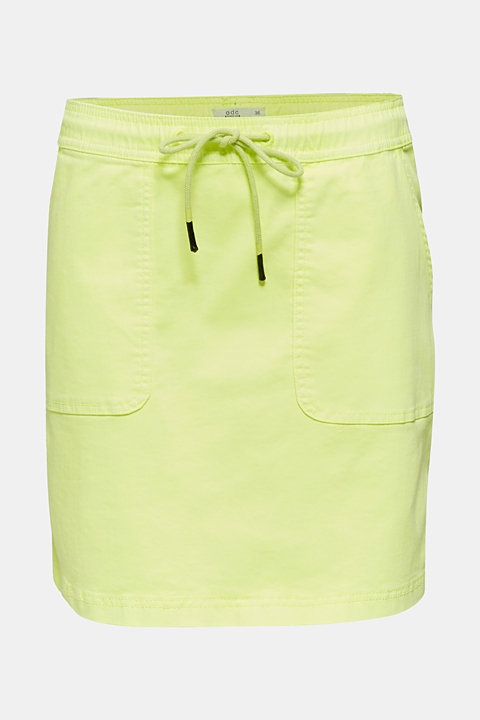 NEON skirt with sporty details