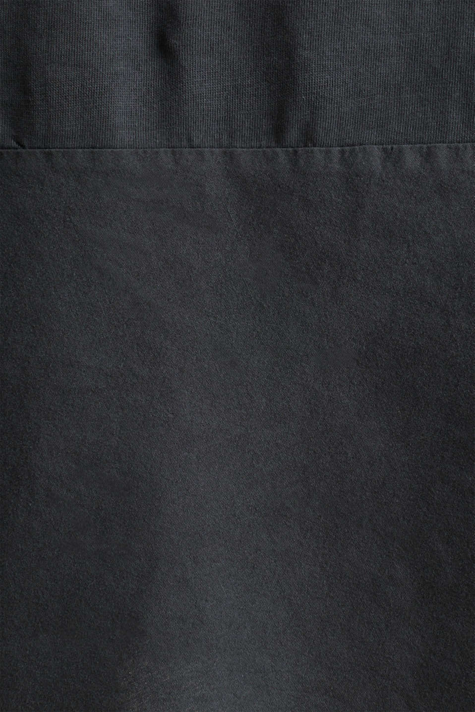 Fabric blend dress with an A-line, BLACK, detail image number 4