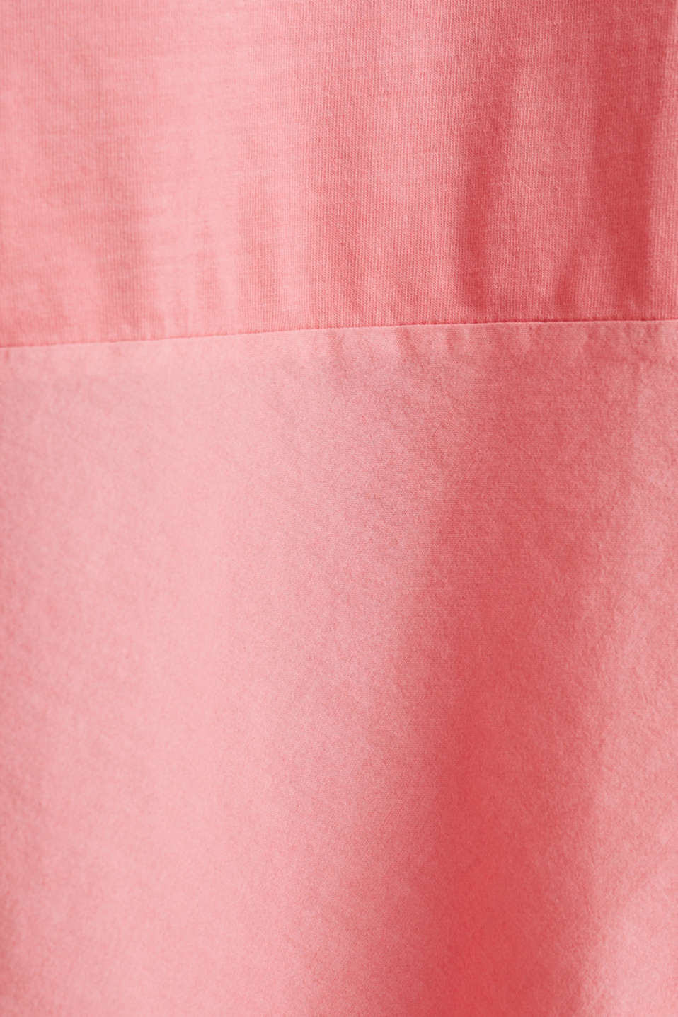 Fabric blend dress with an A-line, CORAL, detail image number 4