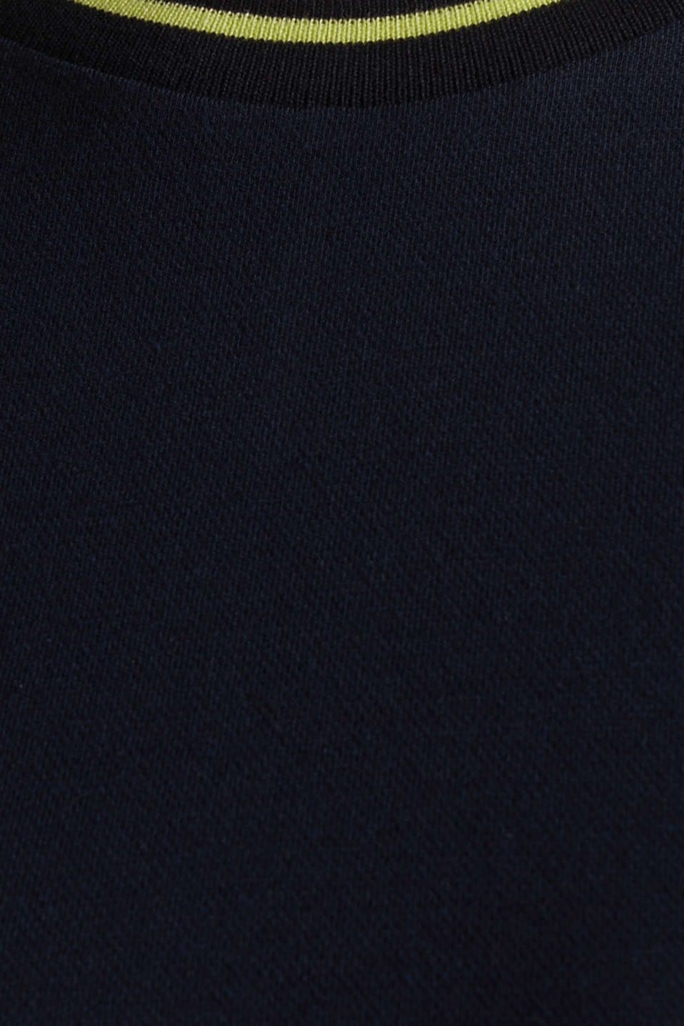 Jersey dress with stripes, NAVY, detail image number 4