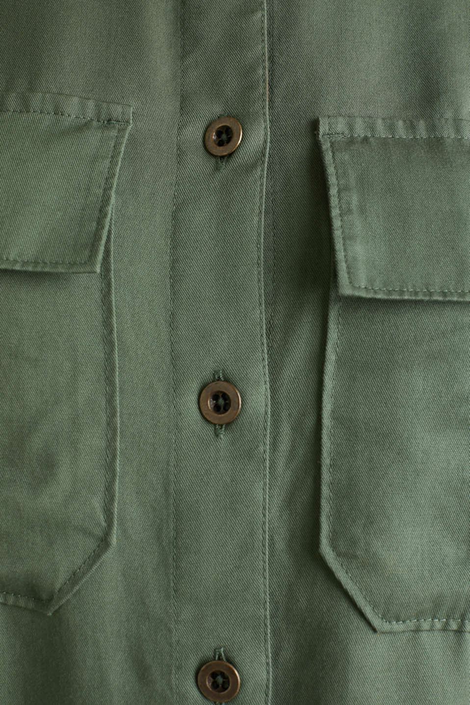 Dress in a utility look, KHAKI GREEN, detail image number 4