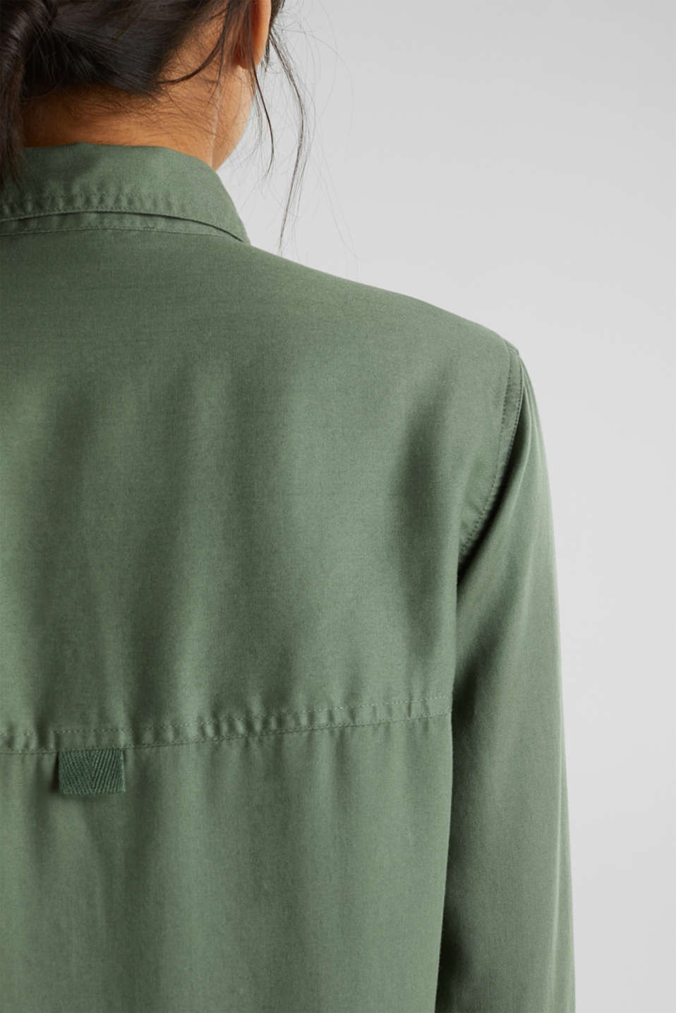 Dress in a utility look, KHAKI GREEN, detail image number 5