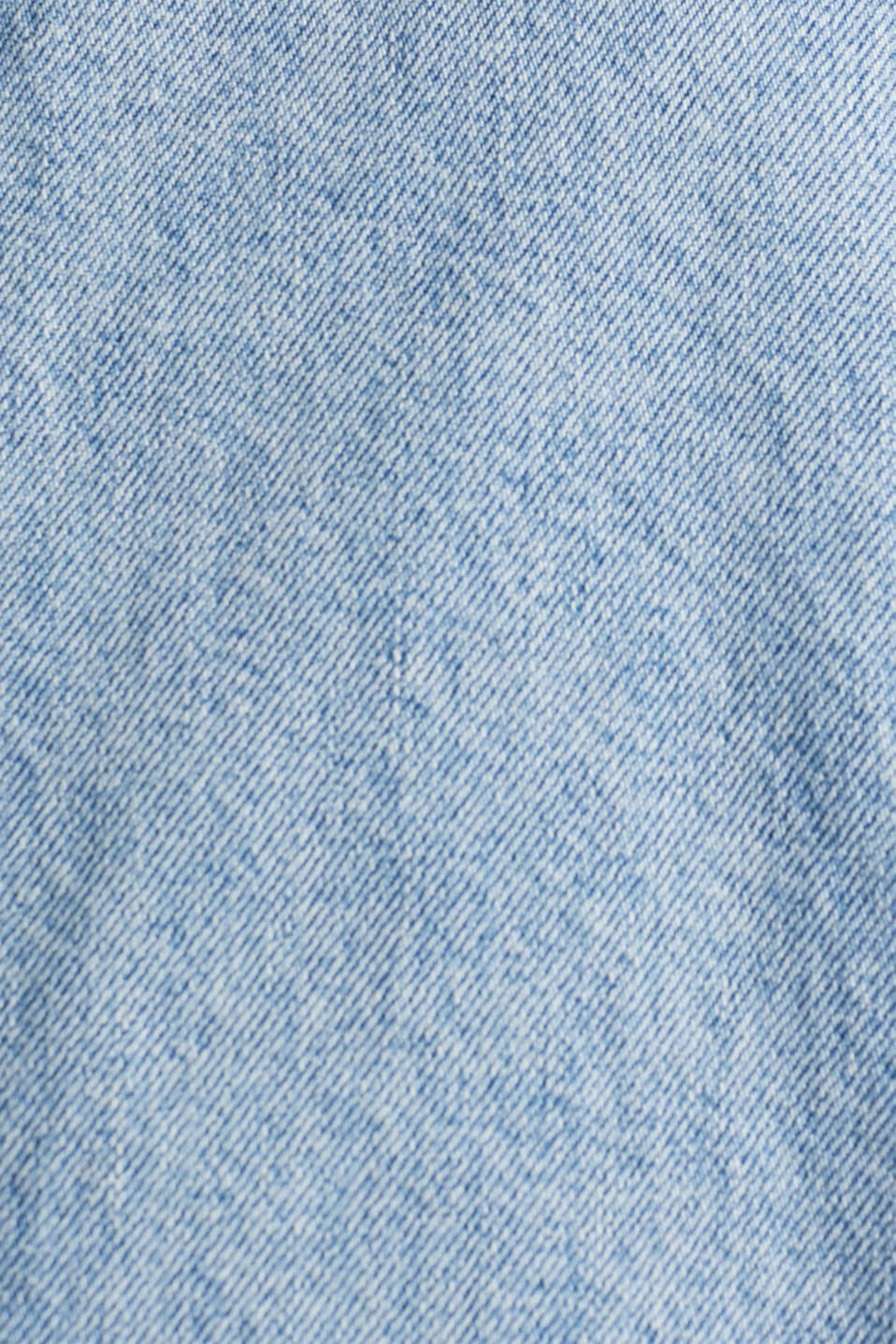 Denim pinafore with organic cotton, BLUE MEDIUM WASH, detail image number 4