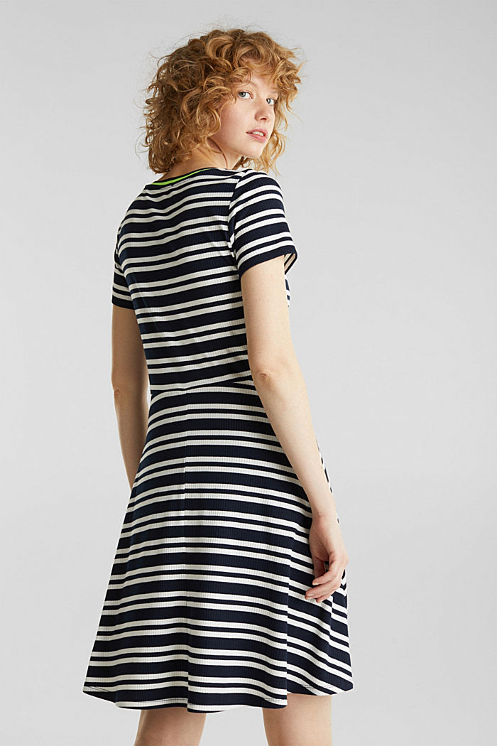 Stretch jersey dress, NAVY, detail image number 2