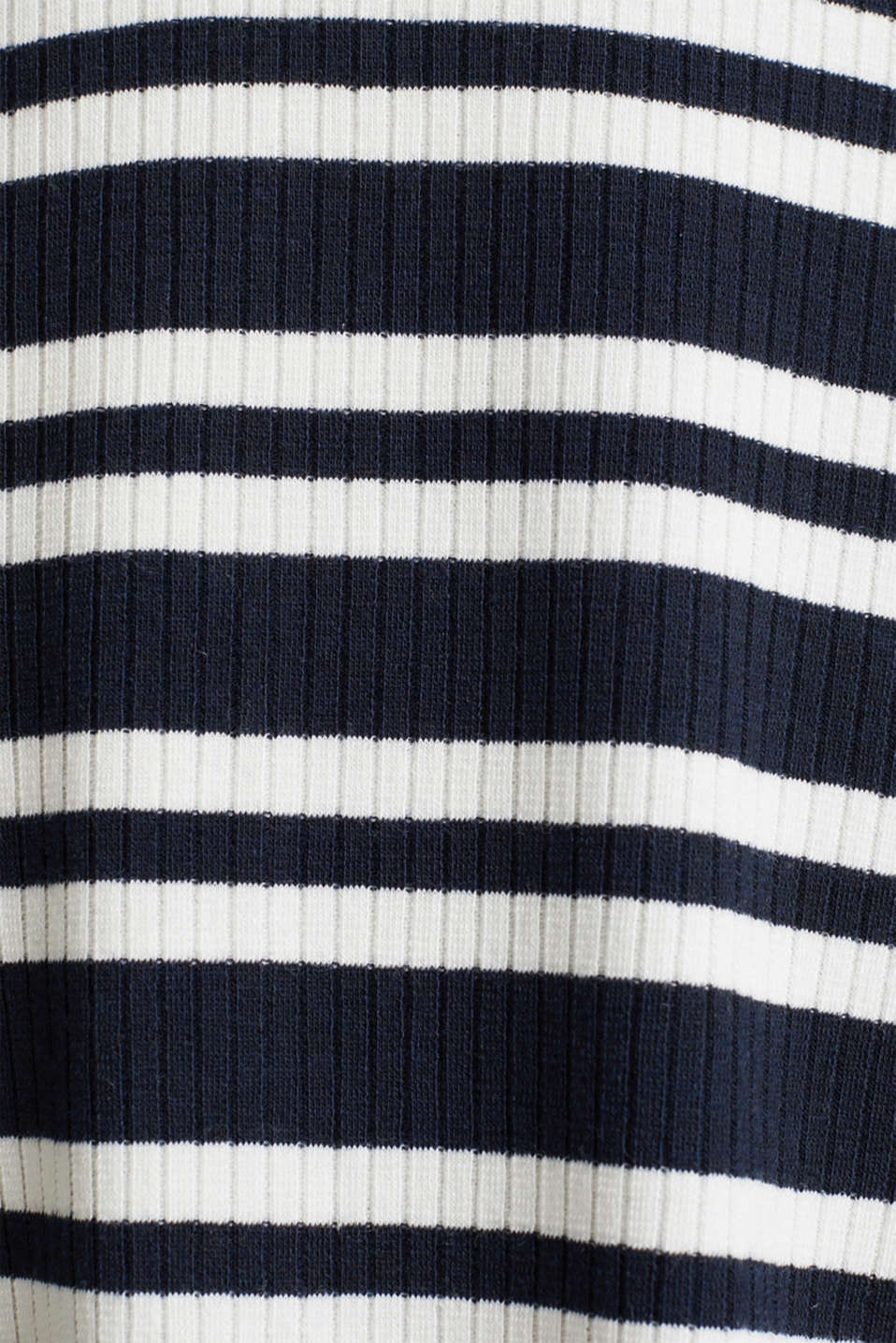 Stretch jersey dress with a ribbed texture, NAVY 2, detail image number 4