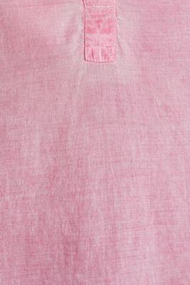 Batik blouse made of cotton, PINK, detail