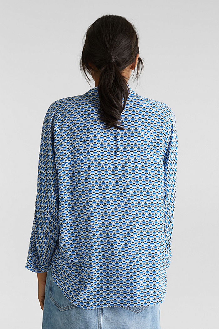 Blouse with a geometric print, NEW OFF WHITE, detail image number 2