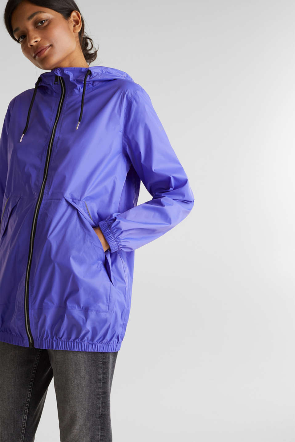 Practical windbreaker, DARK LAVENDER, detail image number 0