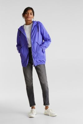 Practical windbreaker, DARK LAVENDER, detail
