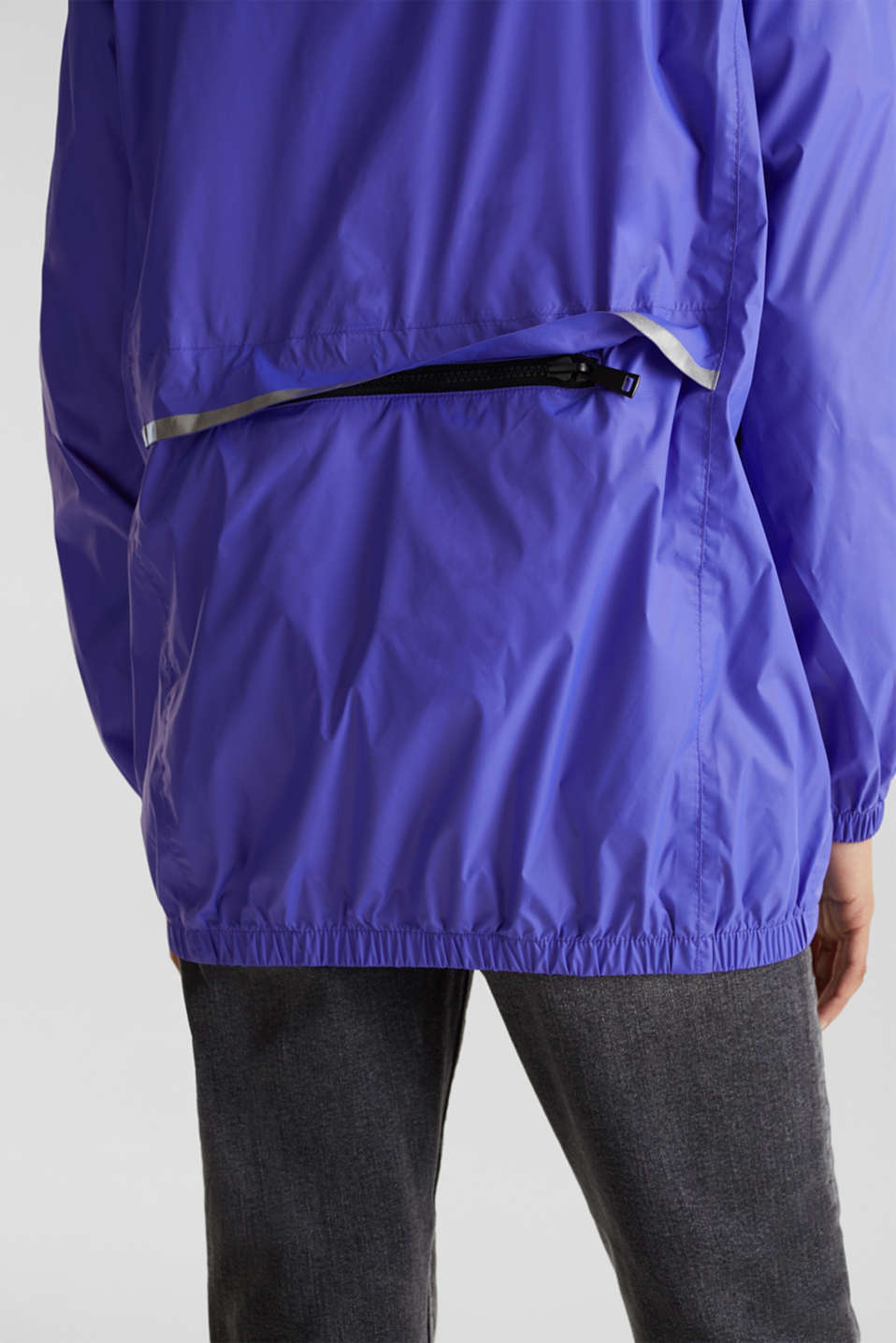 Practical windbreaker, DARK LAVENDER, detail image number 5