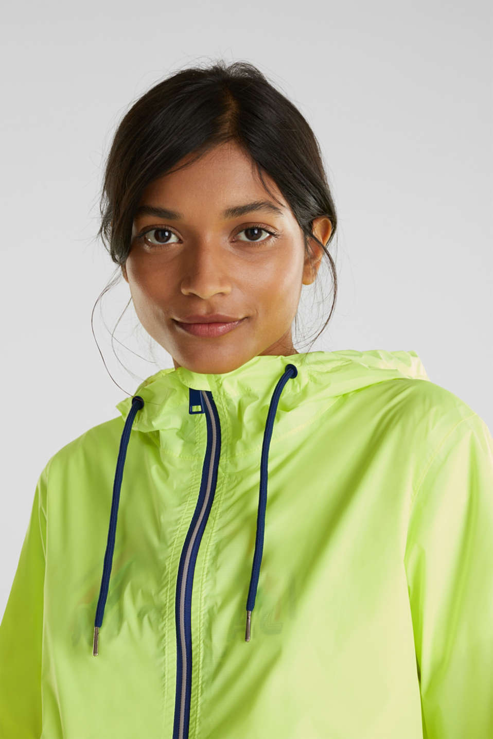 Practical windbreaker, LIME YELLOW, detail image number 6
