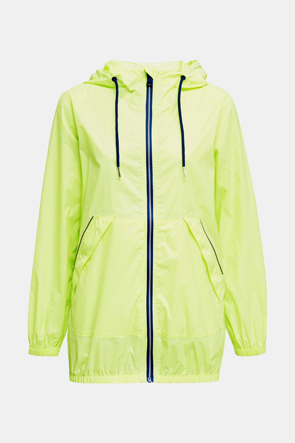 Practical windbreaker, LIME YELLOW, detail image number 7
