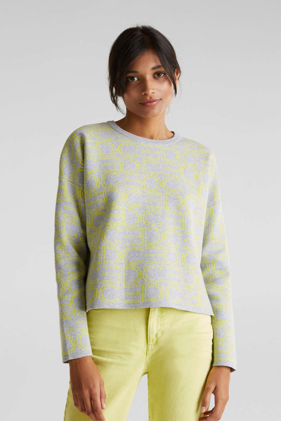 edc - Boxy jumper with stretch