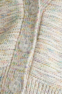 Multi-coloured cardigan, OFF WHITE 2, detail