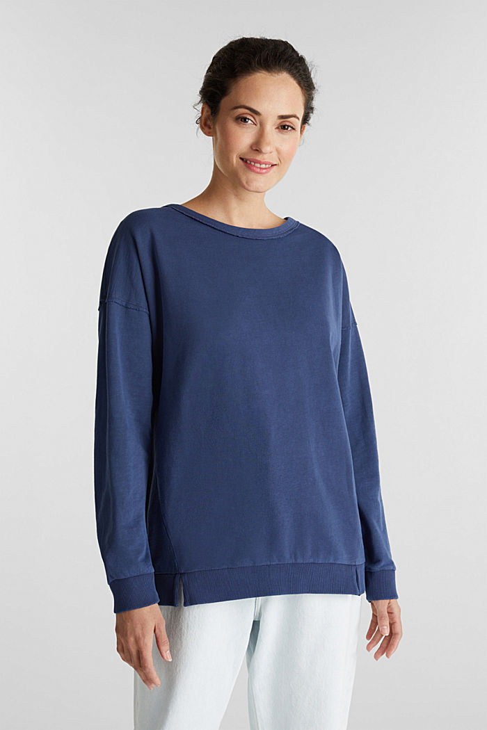 Vintage sweatshirt, NAVY, detail image number 0