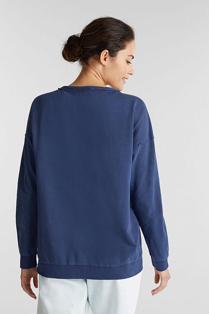 Vintage sweatshirt, NAVY, detail image number 3