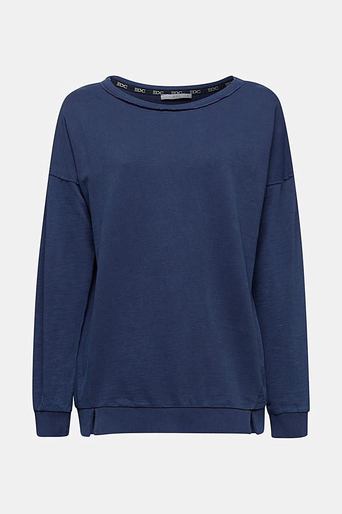 Vintage sweatshirt, NAVY, detail image number 6