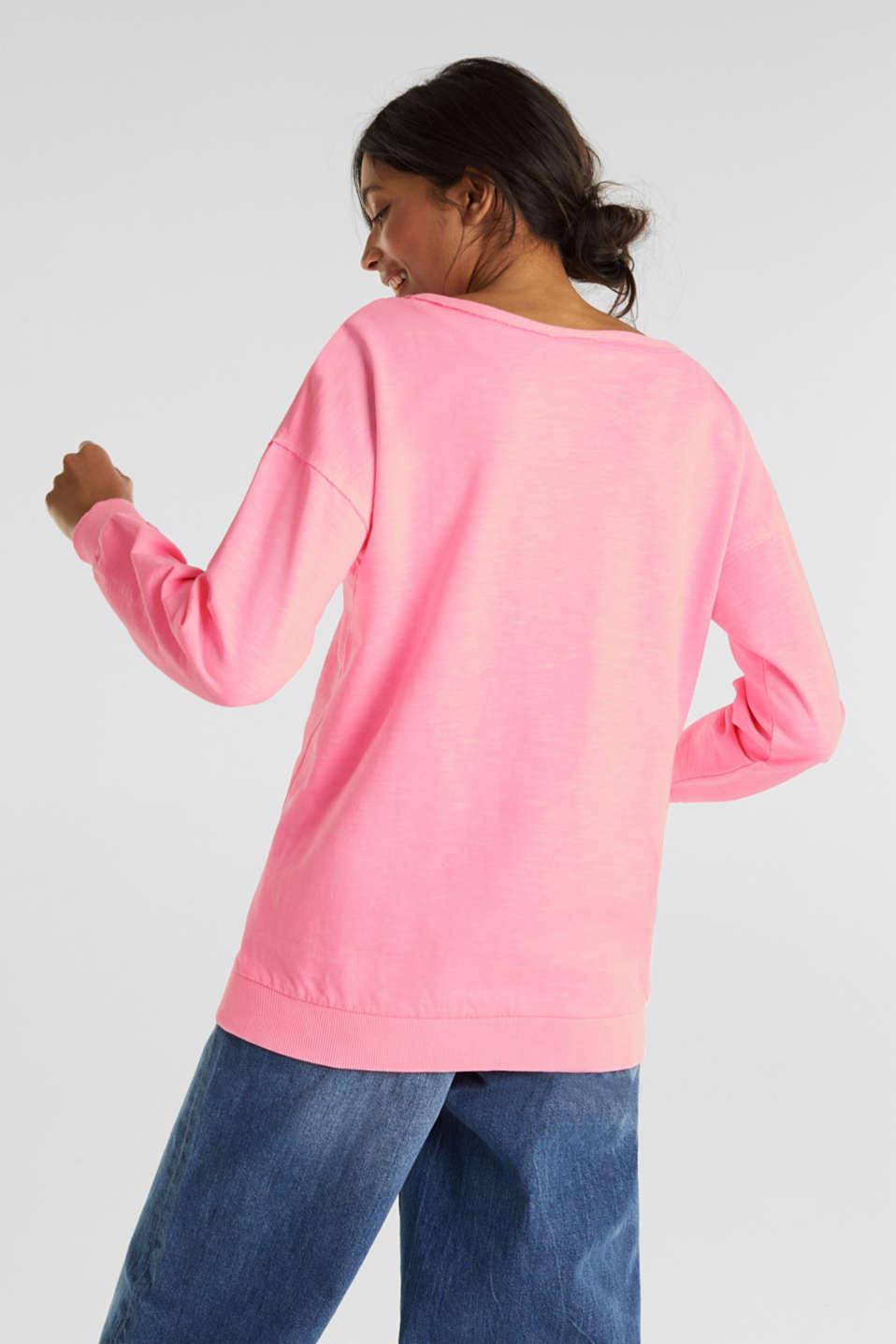 Vintage sweatshirt, PINK, detail image number 3