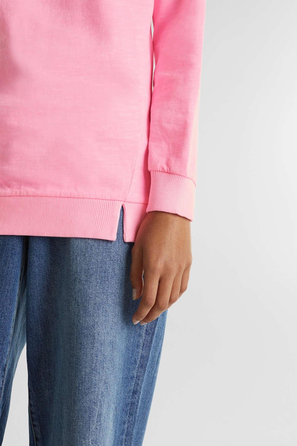 Vintage sweatshirt, PINK, detail image number 2