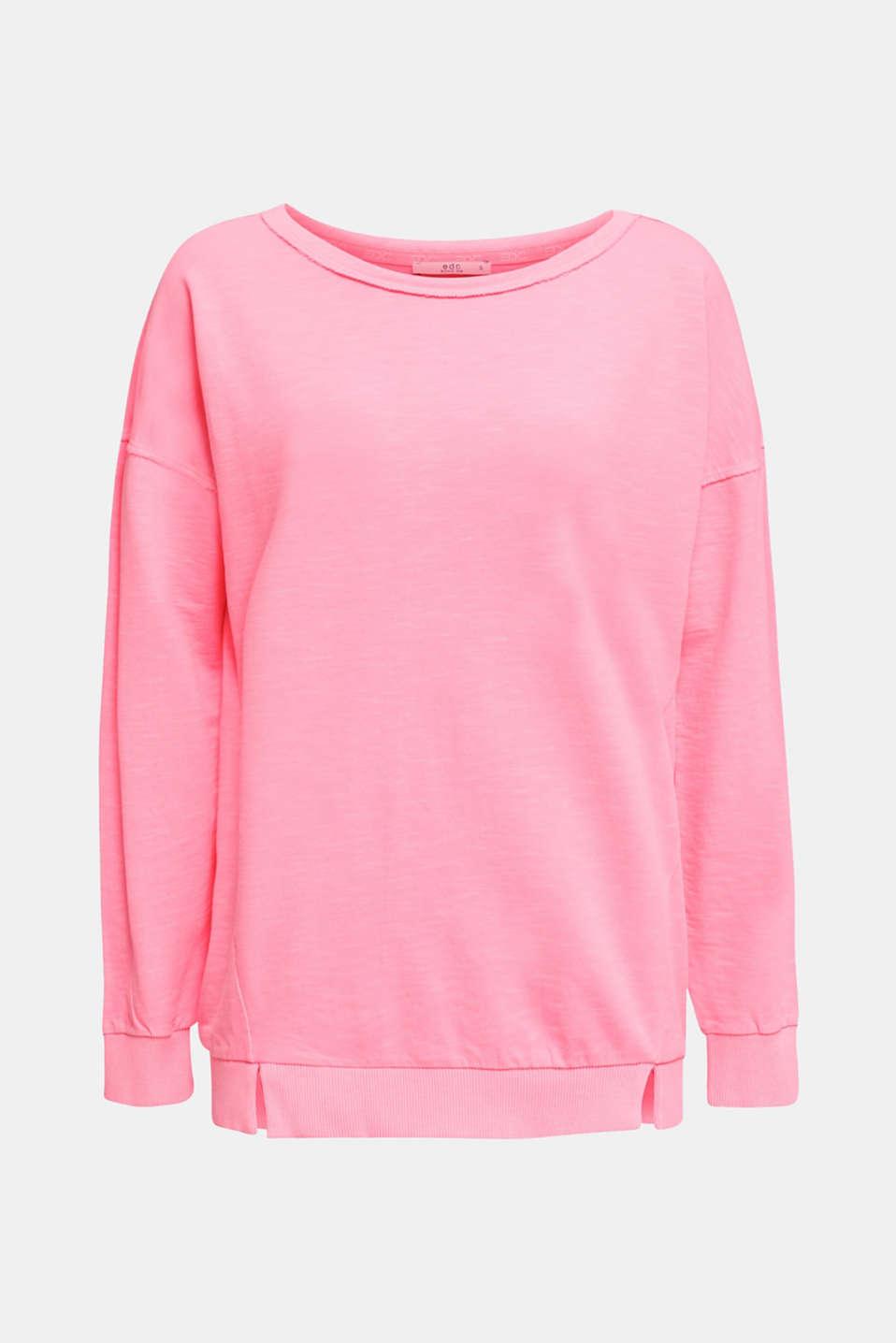 Vintage sweatshirt, PINK, detail image number 6