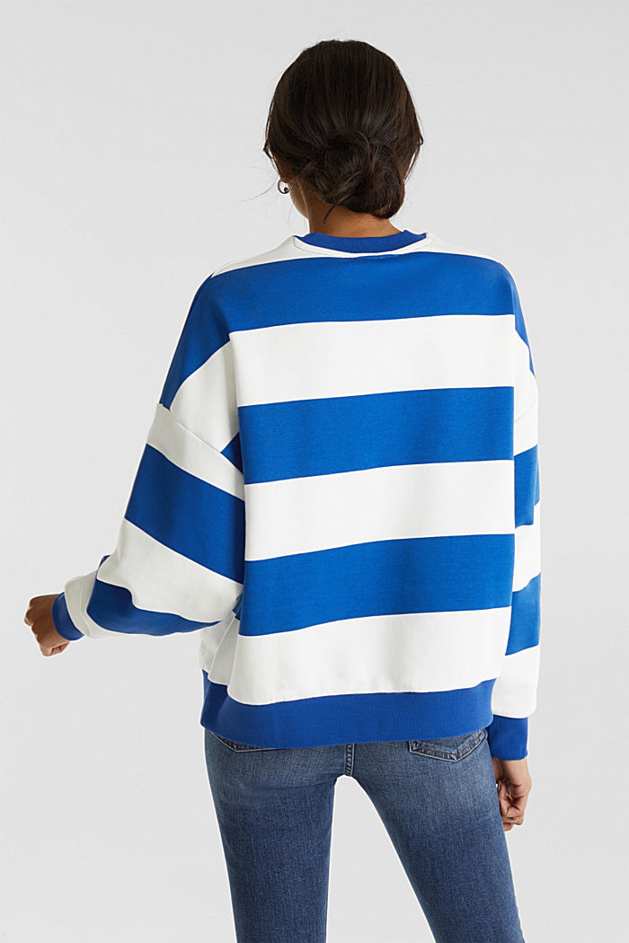 Oversized sweatshirt, BRIGHT BLUE, detail image number 3