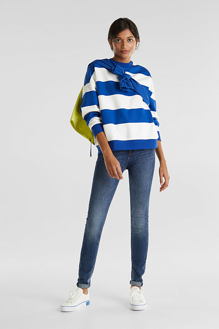Oversized sweatshirt, BRIGHT BLUE, detail image number 1