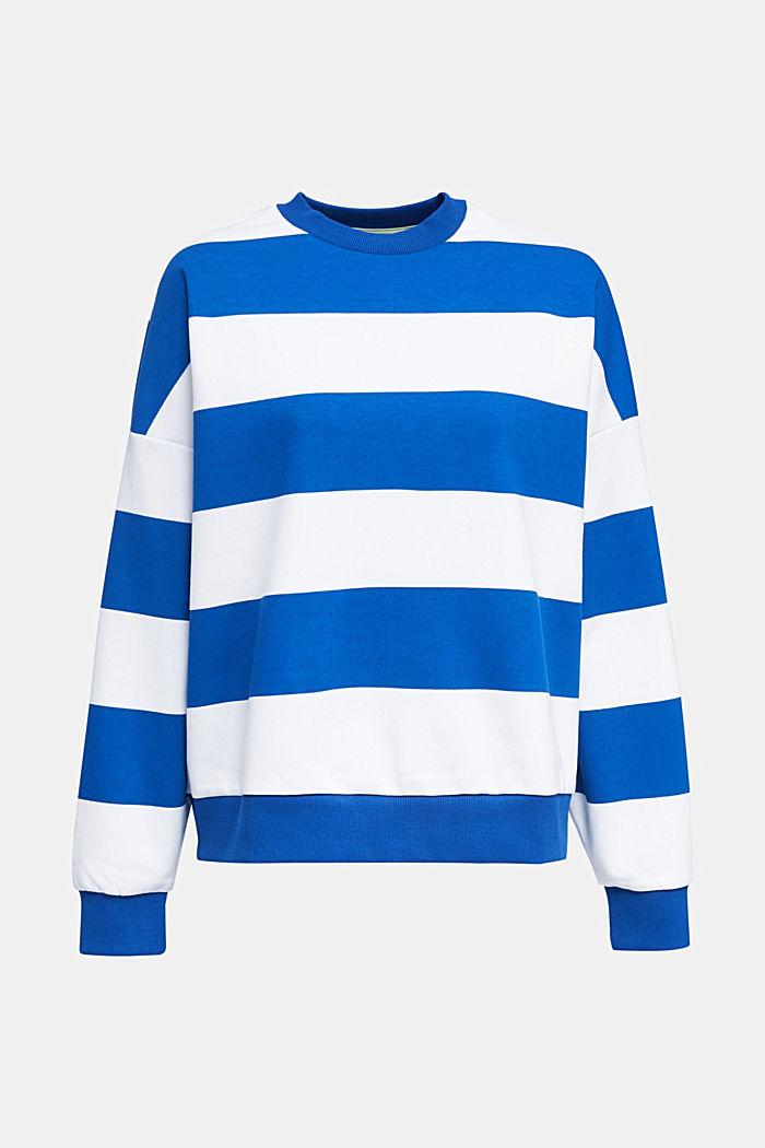 Oversized sweatshirt, BRIGHT BLUE, detail image number 4