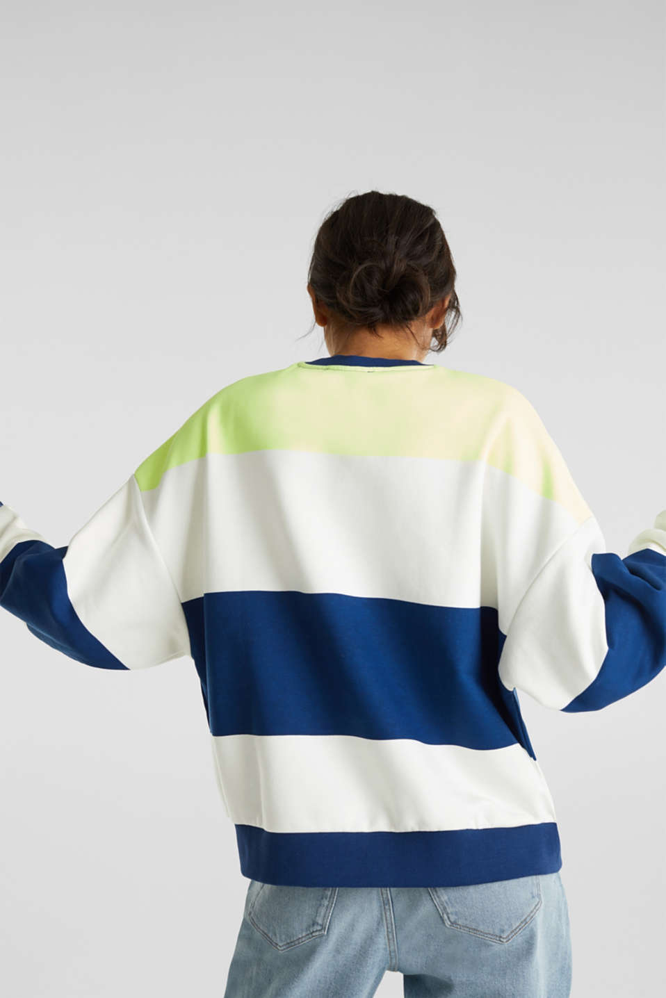 Oversized sweatshirt, INK, detail image number 2