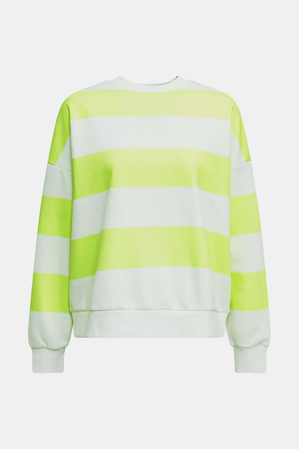 Oversized sweatshirt, LIME YELLOW, detail image number 5