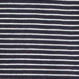 Striped top with a large V-neckline, NAVY, swatch