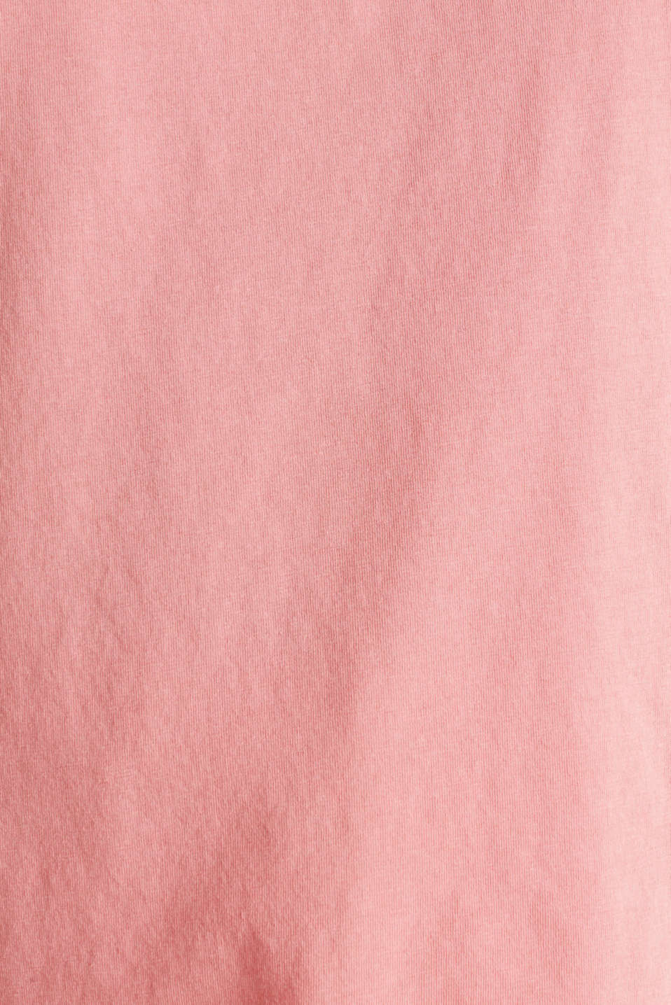 V-neck top, 100% cotton, CORAL 3, detail image number 4