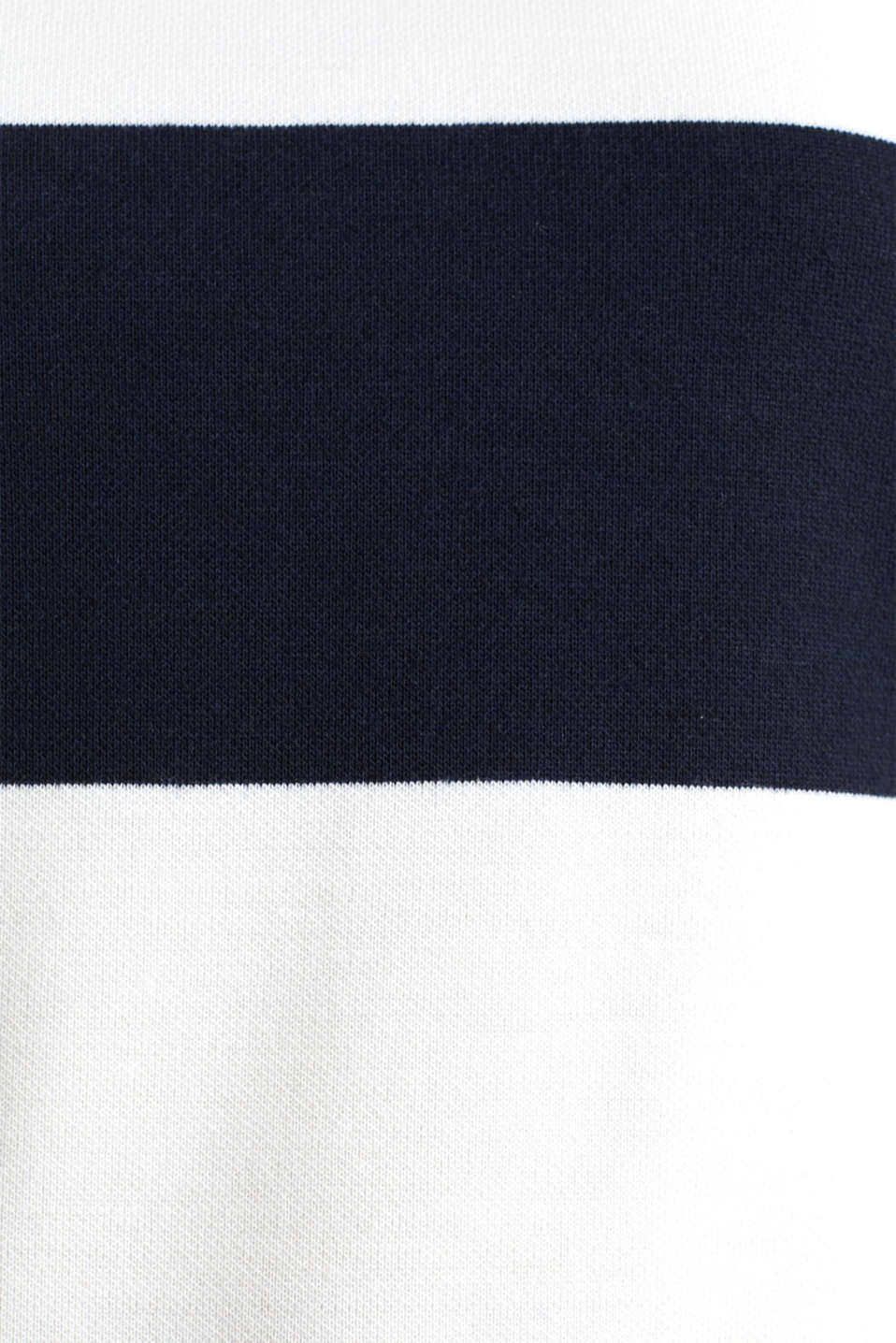 Compact block stripe top, NAVY, detail image number 4
