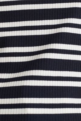 Stretch top with stripes, NAVY 2, detail