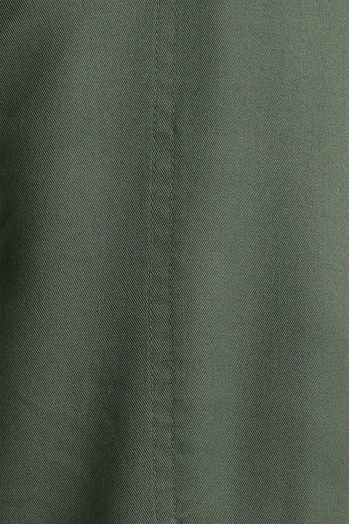 Utility-style boiler suit, KHAKI GREEN, detail image number 4