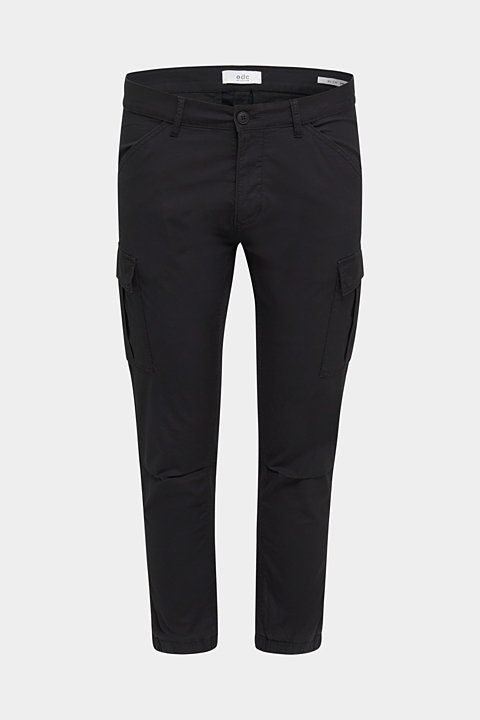 Cargo trousers with stretch