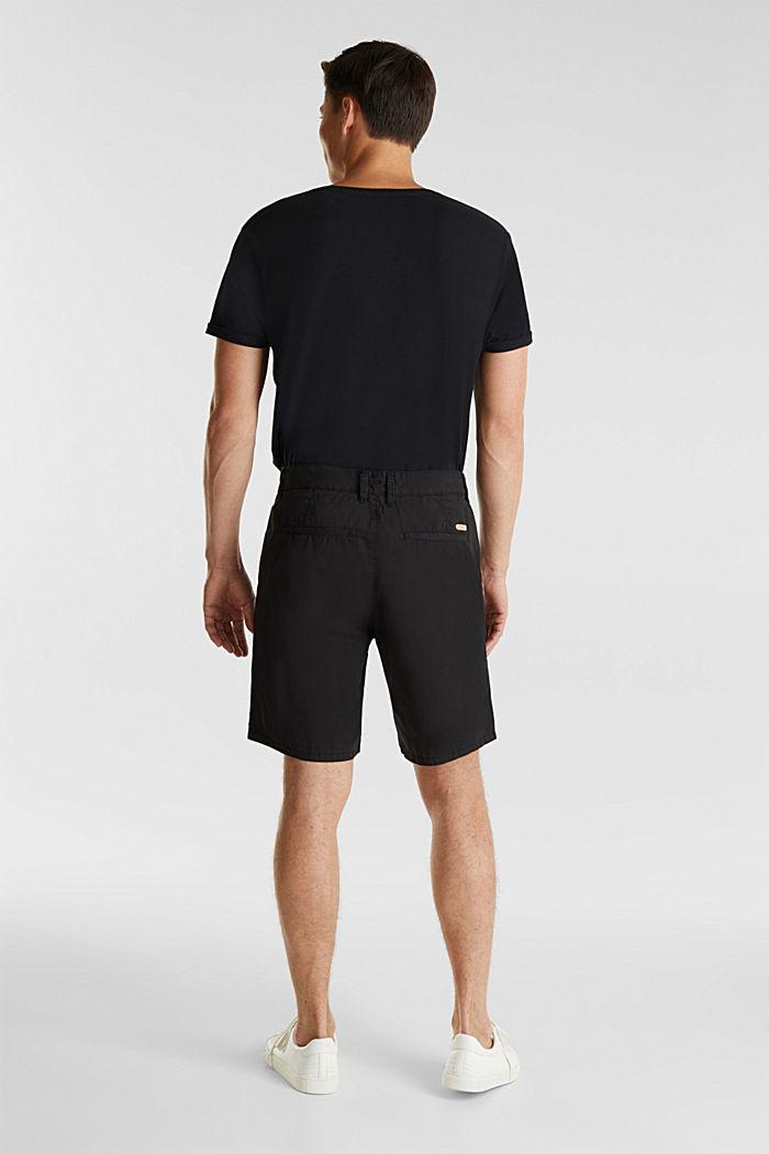 Bermuda aus 100% Baumwolle, BLACK, detail image number 3