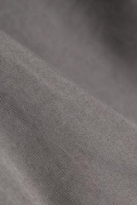 Bermudas in 100% cotton, DARK GREY, detail