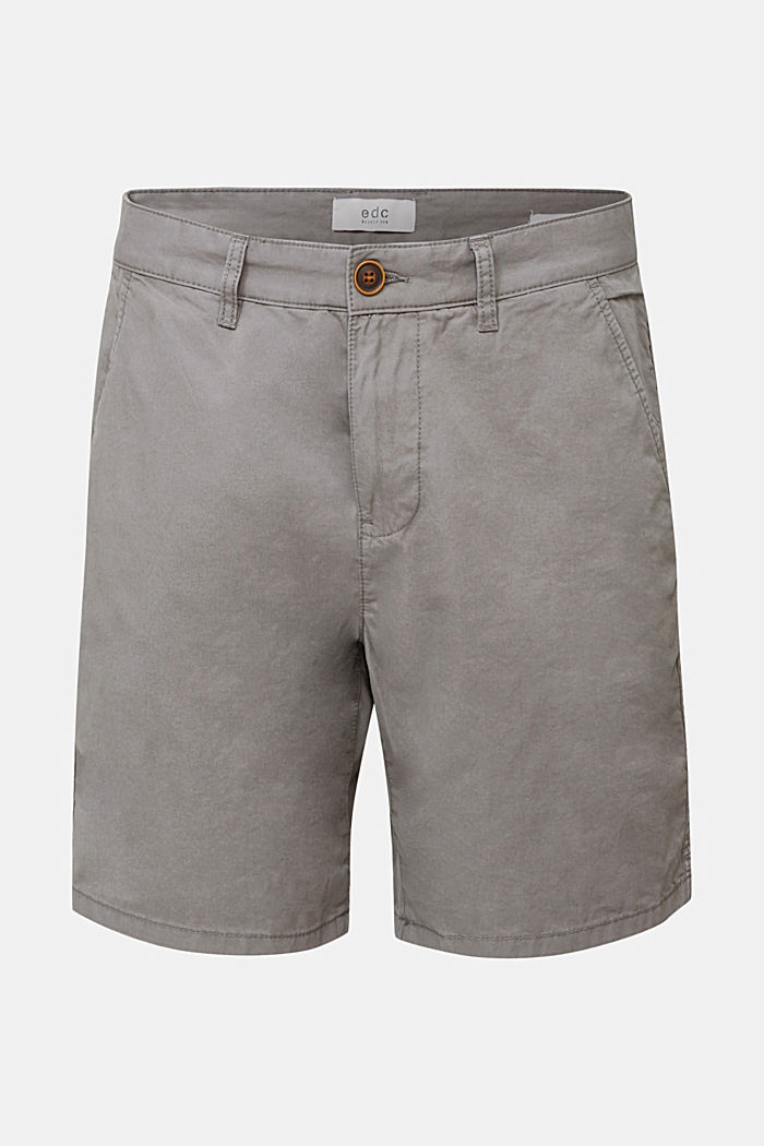 Bermudas in 100% cotton, DARK GREY, detail image number 5