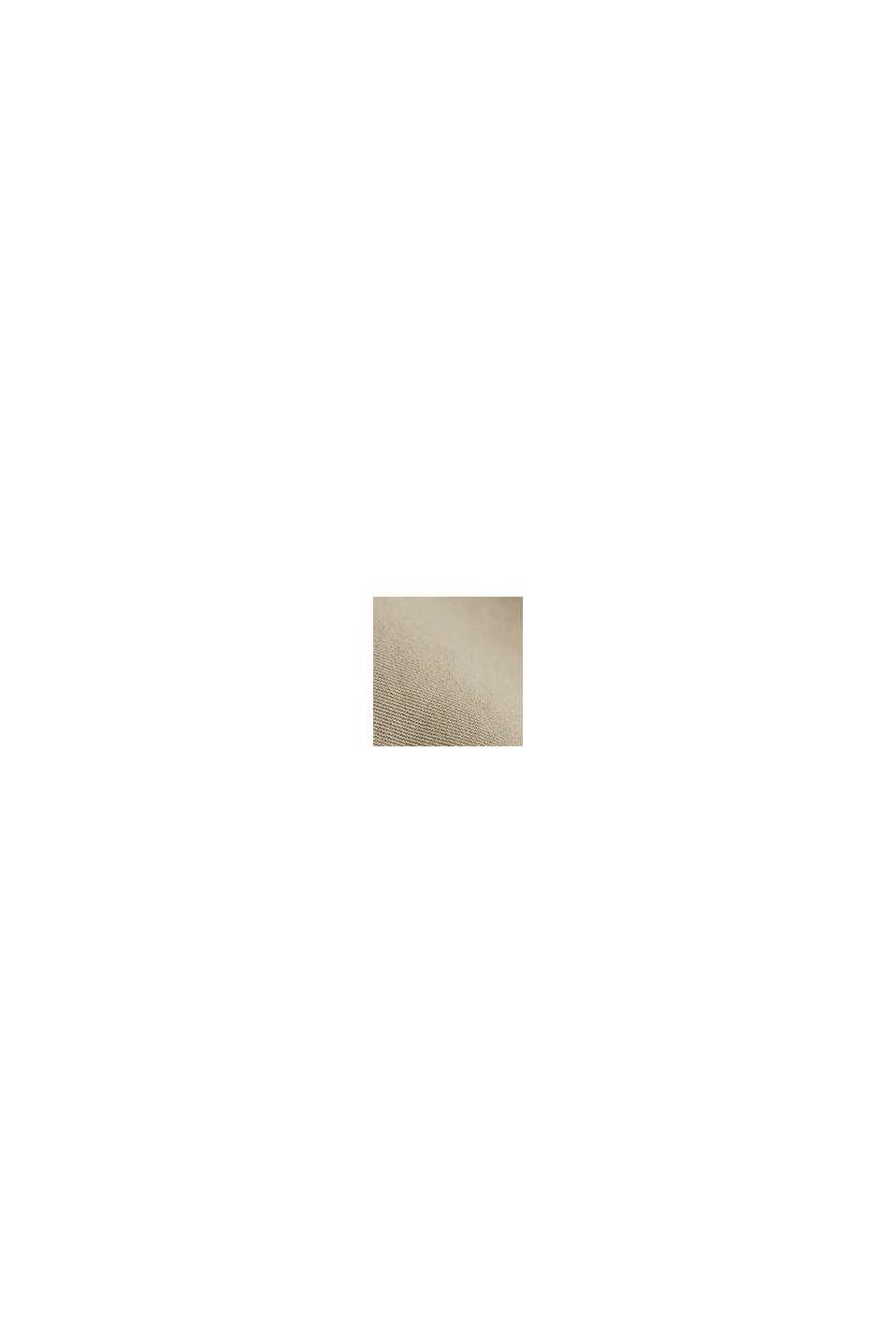 Bermudas av 100% bomull, LIGHT BEIGE, swatch