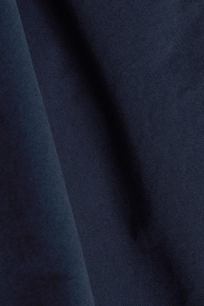 Bermuda aus 100% Baumwolle, NAVY, detail image number 4